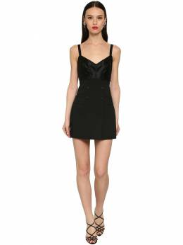Платье Из Шелка И Шерсти На Пуговицах Dolce&Gabbana 71IB41030-TjAwMDA1