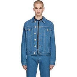 Lanvin Blue Denim Jacket RM-JA0802-DZ01-P20