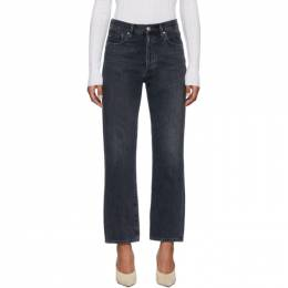 Goldsign Black The Relaxed Straight Jeans W3357-1193