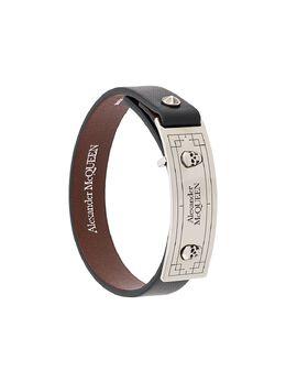 Alexander McQueen декорированный браслет-кафф 6025651BU0Y