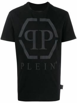 Philipp Plein футболка с короткими рукавами и логотипом S20CMTK4261PJY002N