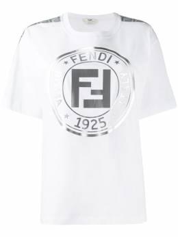 Fendi футболка с логотипом FAF073AB7G