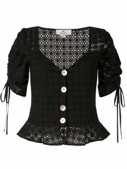We Are Kindred блузка Vienna в технике кроше KIN1434