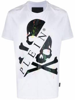 Philipp Plein футболка с короткими рукавами и принтом S20CMTK4271PJY002N