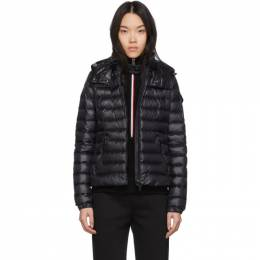 Moncler Black Down Bleu Jacket F10931B10100C0070