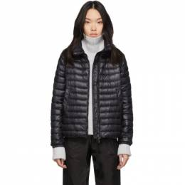 Moncler Black Down Basane Jacket F10931A10000C0070