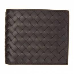 Bottega Veneta Brown Intrecciato Bifold Wallet 113993 V4651