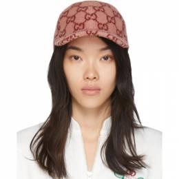 Gucci Pink Wool Cap 603539 4HI53