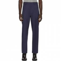 Random Identities Navy High Rise Trousers SW-26A