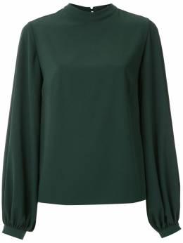 Olympiah блузка с воротником-стойкой 219001