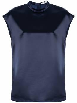 Tibi атласная блузка с воротником-стойкой R119SX7195