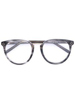 Chloe Eyewear очки с овальной оправой CE2690