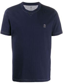Brunello Cucinelli футболка с логотипом M0T611328GCW369
