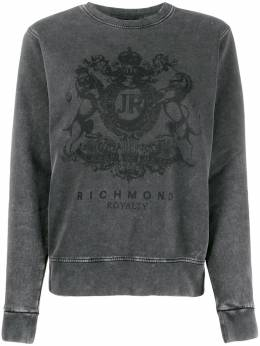 John Richmond толстовка Spencer с логотипом RWA19377FE