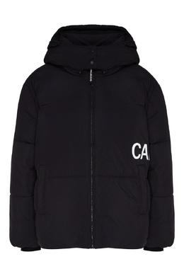 Пуховик с капюшоном и логотипом Calvin Klein 596169265