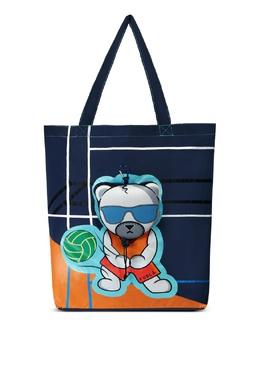 Складная синяя сумка с рисунком Ulisse Furla 1962170029
