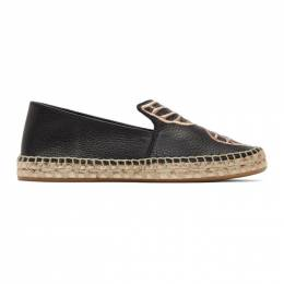 Sophia Webster Black Butterfly Espadrilles SSM20067