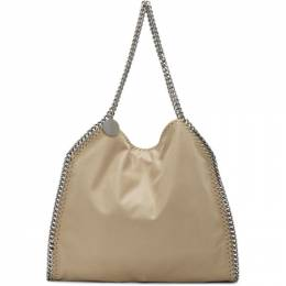 Stella McCartney Beige Small Falabella Tote 261063W9132