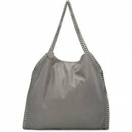 Stella McCartney Grey Small Falabella Tote 261063W9132