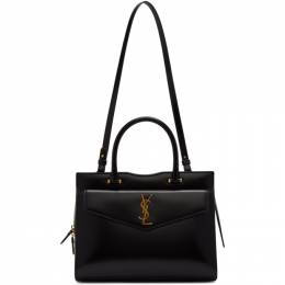 Saint Laurent Black Medium Uptown Top Handle Bag 557653 03P0J