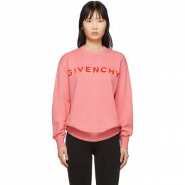 Givenchy Pink Cashmere Sweater BW909K4Z6S