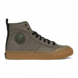 Diesel Green S-Astico Sneakers Y01874 P0465