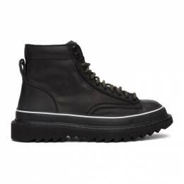 Diesel Black H-Shiroki DMBB Sneakers Y02120 PR030