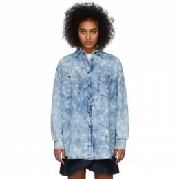 Isabel Marant Etoile Blue Denim Lynton Shirt 20PCH0492-20P022E