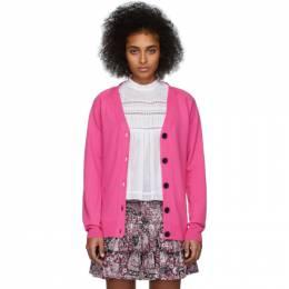 Isabel Marant Etoile Pink Karrick Cardigan 20PCA0246-20P044E