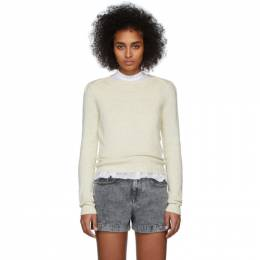 Isabel Marant Etoile Yellow Kleely Sweater 20PPU1176-20P044E
