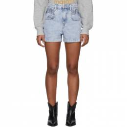 Isabel Marant Etoile Blue Denim Hiana Shorts 20PSH0287-20P017E
