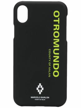 Marcelo Burlon County Of Milan чехол Otromundo для iPhone XR CMPA013R20MAT0071065