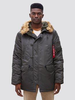 Куртка мужская Alpha Industries модель MJN31210C1_replica_grey 2089256