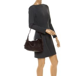 Bottega Veneta Brown Leather Shoulder Bag 249794