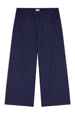 Синие брюки в полоску Il Gufo 1205170222