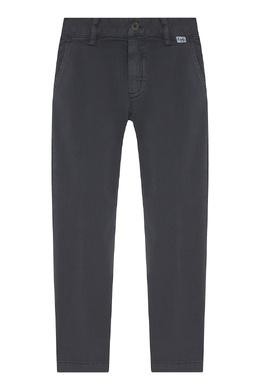 Серые брюки со стрелками Il Gufo 1205170217