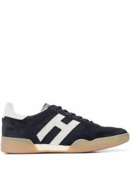Hogan кроссовки H357 с монограммой HXM3570AC40N3K64GT