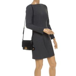 Miu Miu Black Leather Crossbody Bag 251611