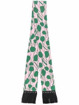 La Doublej узкий шарф Simple Moses Rosa SCA0015SIL001