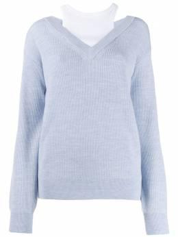 T By Alexander Wang многослойный свитер 4KC1201038