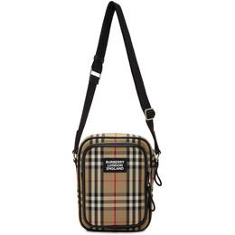 Burberry Beige Freddie Messenger Bag 8023381