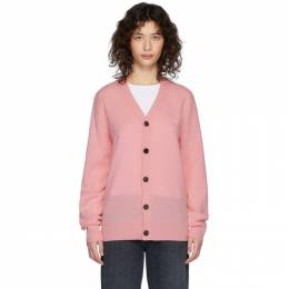 Acne Studios Pink Patch Cardigan C60015