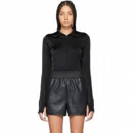Wolford Black Shimmering Glass String Bodysuit 79161