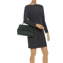Michael Kors Green Leather Ava Top Handle Bag 251135