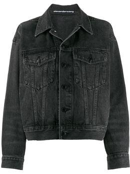T By Alexander Wang джинсовая куртка свободного кроя 4D992695BZ