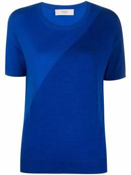 Pringle Of Scotland футболка асимметричного кроя WTH042