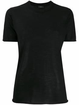 Joseph футболка прямого кроя с круглым вырезом JF004409