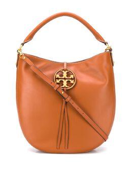 Tory Burch сумка-хобо Miller с металлическим логотипом 61179