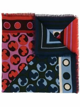 Tory Burch шарф с логотипом 59890