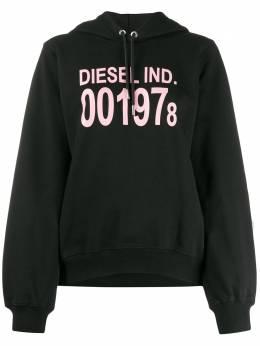 Diesel худи с длинными рукавами и логотипом 00SC8N0IAJH